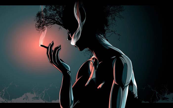 вред никотина